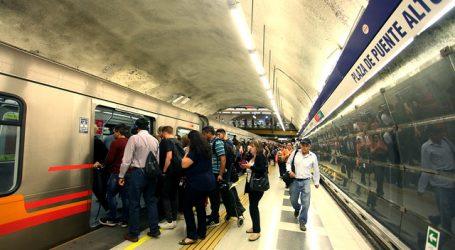 Metro de Santiago cierra estación Plaza de Puente Alto