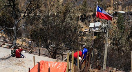 Gobierno declaró Zona de Catástrofe a Valparaíso tras incendio de diciembre