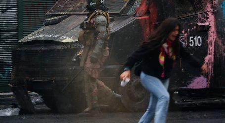Miles de santiaguinos despidieron el año en la Plaza Italia