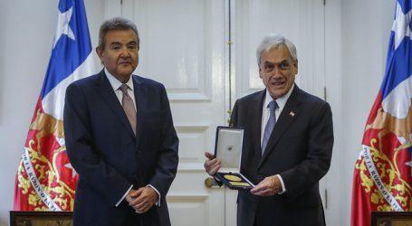 Piñera recibió en La Moneda al nuevo presidente de la Corte Suprema