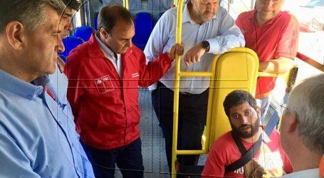 Destinan $1.223 millones para renovar microbuses en Iquique y Alto Hospicio