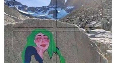 Encuentran a segundo turista italiano borrando otro dibujo en Torres del Paine
