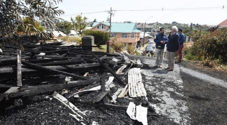 Realizarán exámenes psiquiátricos a detenido por incendio de iglesia en Ancud