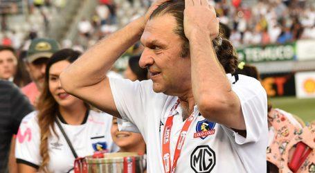 """Aníbal Mosa: """"Colo Colo tiene que pasar a octavos de final en la Libertadores"""""""