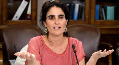 """Ministra Zaldívar y rechazo de 6% de cotización: Son señales """"contradictorias"""""""