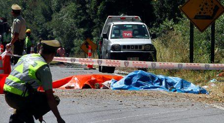 Volcamiento en la Ruta de la Madera dejó un fallecido y una herida grave