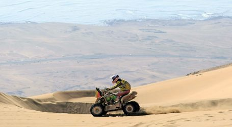 Dakar 2020: Casale fue segundo en la etapa 6 y sigue líder en la general