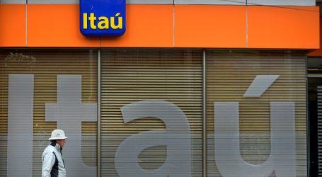 Cuatro hombres robaron sede del banco Itaú en el centro de Santiago