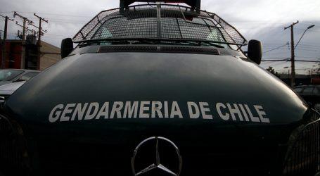 Carabineros y Gendarmería buscan a sujeto que se fugó de la cárcel de Curicó