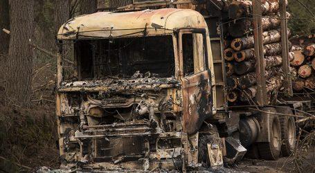 La CAM se adjudica seis ataques incendiarios en tres regiones del país