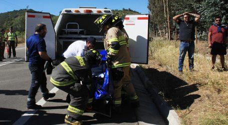 Accidente vehicular dejó un fallecido y cuatro personas heridas en Copiapó