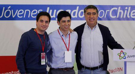 Juventudes RN manifiestan respaldo a Mario Desbordes