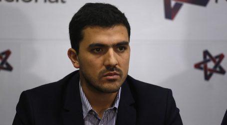 UDI lamenta decisión de Lucas Palacios de suspender su militancia en el partido