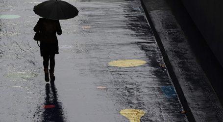 Emiten alerta por precipitaciones moderadas a fuertes en el norte del país