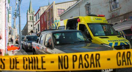 Investigan homicidio de hombre en el Cerro Alegre de Valparaíso
