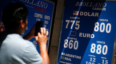 El precio del dólar cayó con fuerza por segunda jornada consecutiva