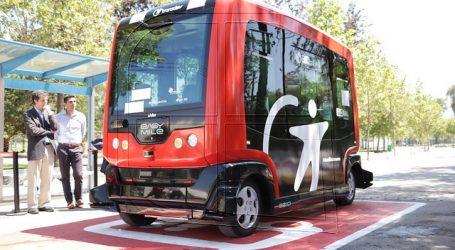 4.200 personas ha usado el vehículo autónomo que opera en el Parque O'Higgins