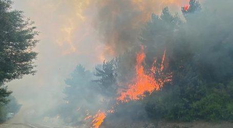 Declaran Alerta Roja para la comuna de Santa Juana por incendio forestal