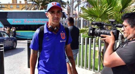 """Osvaldo González es la gran duda en la """"U"""" para duelo por Copa Libertadores"""