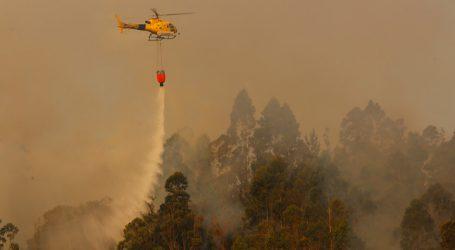 Alerta Amarilla para la Región de Ñuble por incendios forestales