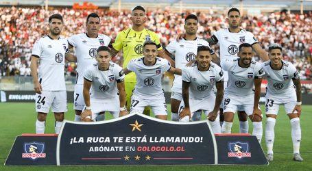 Colo Colo ya tiene formación confirmada para visitar a Cobresal