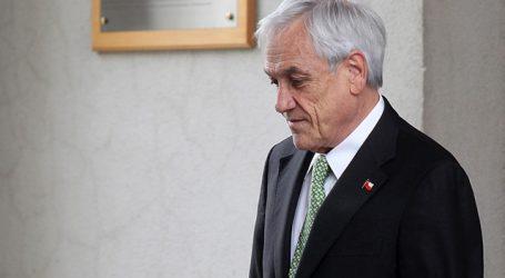 Presidente Piñera inicia este miércoles sus vacaciones