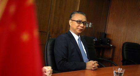 Ministro de Agricultura se reúne con embajador de China por coronavirus