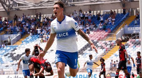 U. Católica venció a D. Antofagasta y es el líder exclusivo del torneo