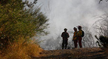 Declaran Alerta Roja para la comuna de Los Ángeles por incendio forestal
