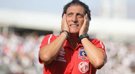 Mario Salas fue destituido como entrenador de Colo Colo