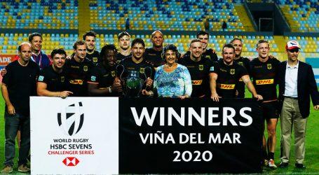 Los 'Cóndores' culminaron cuartos el World Rugby Sevens de Viña del Mar