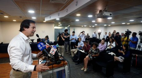 Ministro Palacios confirmó la renuncia de Guillermo Pattillo al INE