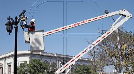 Comenzó instalación de nuevas luminarias LED en polígono Portales – Matucana