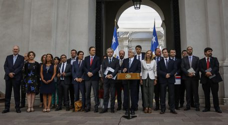 Piñera hizo un llamado a condenar la violencia y defender la democracia