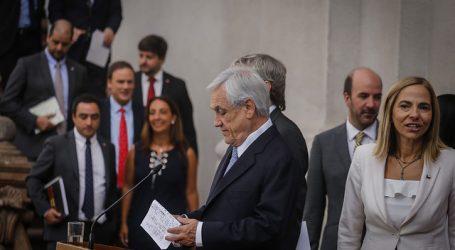 """Presidente Piñera: """"Llegó el tiempo de cumplir el Acuerdo por la Paz"""""""