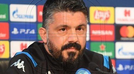 """Champions-Gennaro Gattuso: """"Nos hicieron cosquillas hasta el gol"""""""