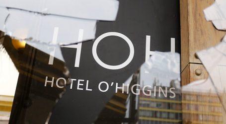 Hotel O'Higgins suspendió su funcionamiento de forma indefinida