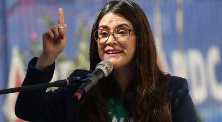 Vicepresidenta de la Mujer DC celebra aprobación de la paridad de género