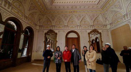 Palacio Vergara se encontraría en la etapa final de su restauración