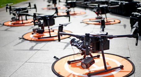 Estación Central inicia proceso de sanitización con drone