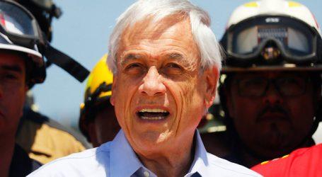 Maule: Piñera junto a Walker recorren zonas afectadas por incendios forestales