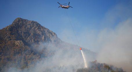 ONEMI reporta 6 incendios forestales activos y 21 controlados a nivel nacional