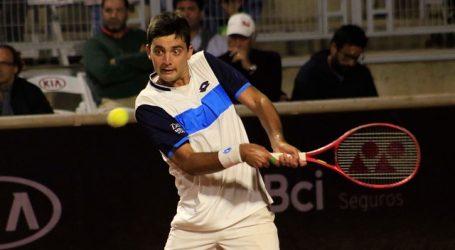 Tenis: Tomás Barrios escaló 18 puestos y apareció 282º en ranking de la ATP