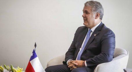 Piñera se reúne con el Presidente de Colombia para afianzar Alianza del Pacífico