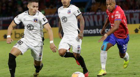 Colo Colo recibe fuerte multa por infracciones disciplinarias ante Wilstermann