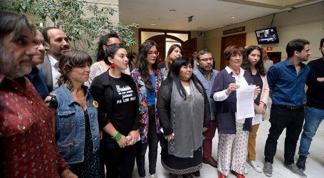 "Oposición ingresa proyecto para derogar la ""Ley Antibarricadas"""