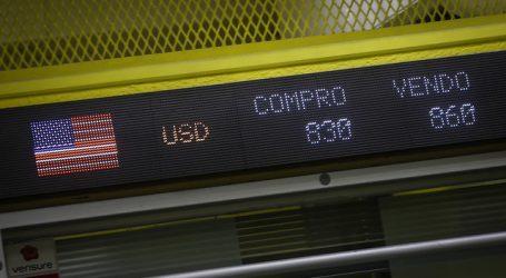 Dólar alcanza nuevo mínimo histórico y supera los $ 850