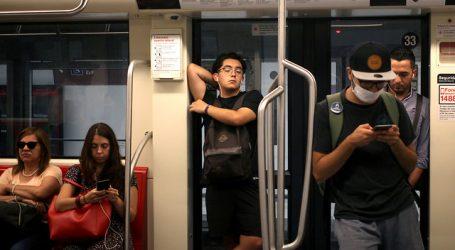 COVID-19: Metro reporta un 47,5% menos de afluencia respecto del martes pasado