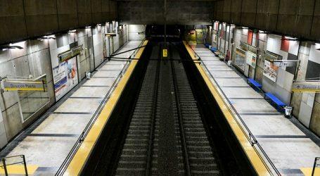 Metro Valparaíso reportó una fuerte baja del 74,9% de afluencia de pasajeros