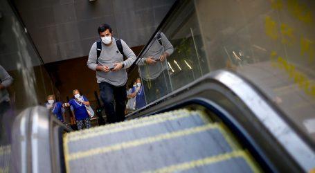 COVID-19: Metro reporta un 63,3% menos de afluencia respecto del jueves pasado